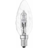 Osram halogeen kaarslamp eco 28w-e14