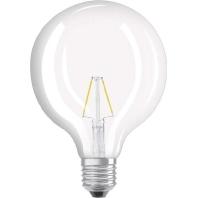 LEDPG125252,8827FE27 - LED-Filament-Globelampe 2700K E27 LEDPG125252,8827FE27