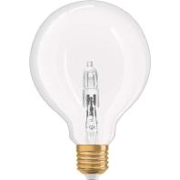 1906HALG95CL20W230V - Halogenlampe Vintage 20W 230V E27, Globe 1906HALG95CL20W230V