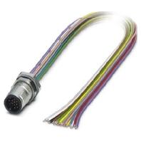 Image of SACC-DSI-MS #1437135 - Einbausteckverbinder 17-polig M12 SACC-DSI-MS 1437135