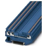 PT 1,5/S-TWIN-MTD BU (50 Stück) - Durchgangsklemme 0,14-1,5qmm B=3,5mm PT 1,5/S-TWIN-MTD BU