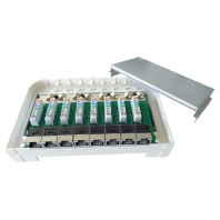 Image of 506139 - Smartbox LSA Mittelbox 8-Port CAT6A RJ45 ws 506139