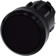 3SU1000-0AA10-0AA0 - Drucktaster 22mm,rund,schwarz 3SU1000-0AA10-0AA0