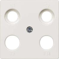 5TG2565 - Abdeckplatte Delta Plus, tws 5TG2565 - Aktionspreis - 8 Stück verfügbar