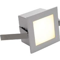 SLV Frame Basic LED 111262 Power-led 1 W Zilver-grijs Aluminium