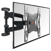 BASE 45 L - LCD-Wandhalter,schwenkbar f.102-163cm,sw BASE 45 L