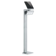 LED-solarlamp XSolar Stand, zilver