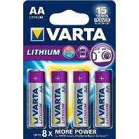 Lithium AA 4-pak