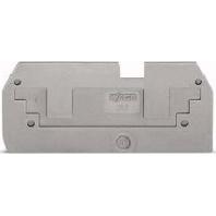 282-357 (25 Stück) - Reduzier-/Abdeckplatte grau, 1mm dick 282-357