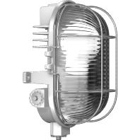 50700.914 - Alu-Druckguß-Ovalleuchte grau TC 7W 50700.914