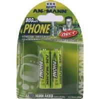 5030902 VE2 Bli  - Akku Mignon DECT-Telefon NiMH AA 800mAh 5030902 VE2 Bli
