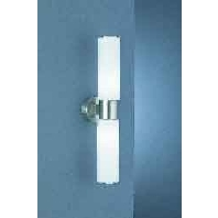 Elegante wandlamp Lilli 45 cm nikkel