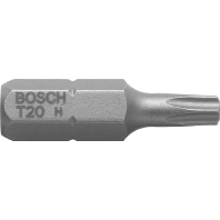 Schroefbit Extra Hard, T25, 25 mm, verpakking van 3 stuks Bosch 2607001615 T25 Lengte:25 mm