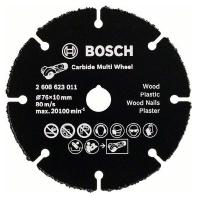HM-Trennscheiben Carbide Multi Wheel BOSCH 76-1-10 mm