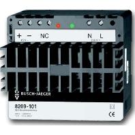 BJ netvoeding voor montage op DIN-rail 8209-101