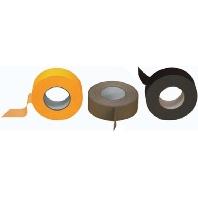 90/25mm x50m sw - Gewebeband schwarz D:0.305 B:25mm L:50m 90/25mm x50m sw