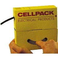 Krimpkous Cellpack 9.5-4.8mm doos 10M zwart
