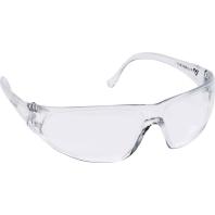 Cimco Veiligheidsbril kleurloos-transp.Breukvaste kunststofGlas 140205
