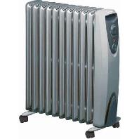 RD 907 TS Electric radiator 1500W grey RD 907 TS