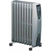 RD 909 TS Electric radiator 2000W grey RD 909 TS
