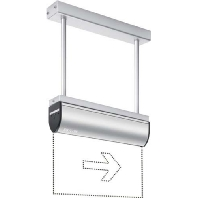 SLD LEDi SC/C Pendel  - Notleuchte 32m EKW 3,3W SLD LEDi SC/C Pendel