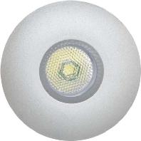P32031402 alu-mt - P-LED Lichtpunkt IP20 12V 3W 3000K rd P32031402 alu-mt