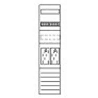 zsd-z17b0016-zahlerfeld-1050mm-2zp-5pol-zsd-z17b0016