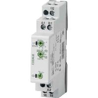 Installatietijdrelais IZ-serie Eberle IZT 0530 53 649 001 24 240 V DC-AC 1 wisselaar potentiaalvrij