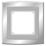 Image of 2041311 - Glasrahmen 1-fach edelstahleffekt 2041311