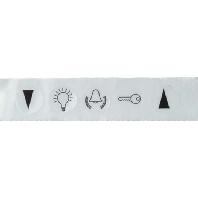 979060 - Symbolaufkleber Klingel Licht Türöffner 979060