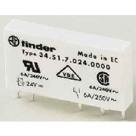 34.51.7.024.0000 - Steck/Printrel.24VDC 1W 6A Raster 5mm 34.51.7.024.0000