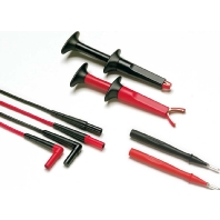 Fluke TL223-1 Veiligheidsmeetsnoerenset [ Banaanstekker 4 mm Banaanstekker 4 mm] 1.5 m Zwart, Rood
