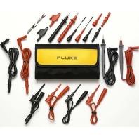 Fluke TL80A-1 Veiligheidsmeetsnoerenset [ Banaanstekker 4 mm Testpunt] 1.5 m Zwart, Rood