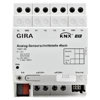 GIRA ANAL-SENS-INT 4VD DRA KNX