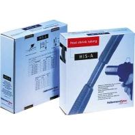 Krimpkousen-box HIS-A Ø voor-na krimpen: 3 mm-1 mm Krimpverhouding 3:1 10 m Zwart