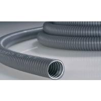 PCS50-GS/PVC-GY-10M (10 Meter) - Stahl-Schutzschlauch gr,PVC-Mantel PCS50-GS/PVC-GY-10M