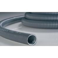 PCS63-GS/PVC-GY-10M (10 Meter) - Stahl-Schutzschlauch gr,PVC-Mantel PCS63-GS/PVC-GY-10M
