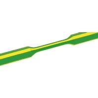 Tredux krimpkousen 3:1 Ø voor-na krimpen: 6 mm-2 mm Krimpverhouding 3:1 1 m Groen-geel