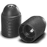 100050 - Fassung E27 ws, Porz, M10x1 100050 - Aktionspreis - 12 Stück verfügbar