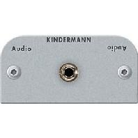 Kindermann 3.5mm stereo audio (mini jack) kabel+plug module-54 x 54 mm