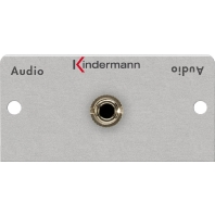 Kindermann 3.5mm stereo mini-jack soldeer module-50 x 50 mm