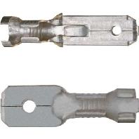2250 (100 Stück) - Flachstecker 4-6qmm 2250