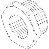 Kleinhuis verloopring kabel buisinvoer