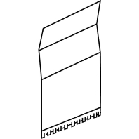 BSV65 (20 Stück) - Stoßstellenverbinder Brüstungskanal BSV65