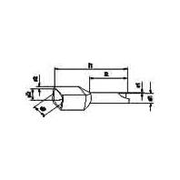 Image of AHI-TWIN 2x2,5 BU (500 Stück) - Aderendhülse isoliert AHI-TWIN 2x2,5 BU