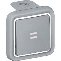 69712 - Aus-Wechselschalter 1p.gr AP, 10A,250V, IP55 69712