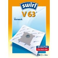 V 63 MicroPor (VE4) - Staubbeutel für Vorwerk V 63 MicroPor (Inhalt: 4)