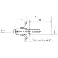 NKP 1401-1 Float switch 1x2A NKP 1401-1