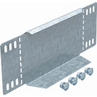Image of RWEB 1060 FS - Reduzierwinkel/Endabschluß für Kabelrinne 100mm RWEB 1060 FS