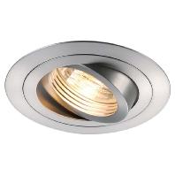 SLV Plafondinbouwlamp New Tria Aluminium (geborsteld) 111360